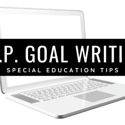 IEP Goal Writing