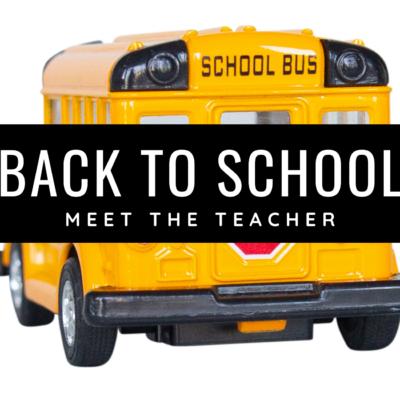 Meet the Teacher Special Education