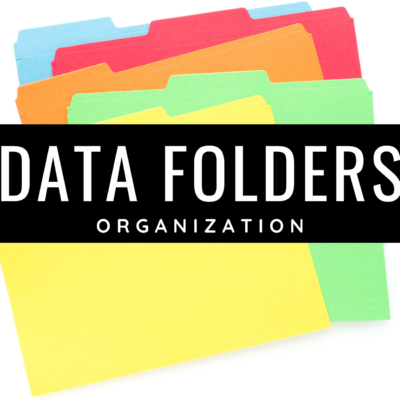 Data Folder Organization