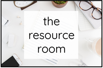 The Resource Room Title